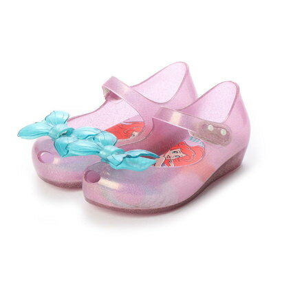 靴, サンダル  melissa MINI MELISSA ULTRAGIRL LITTLE MERMAID BB PINKBLUE