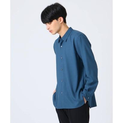 ティーケー タケオ キクチ tk.TAKEO KIKUCHI TRレギュラーカラーシャツ (ダークグリーン)
