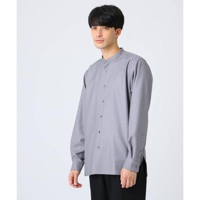 ティーケー タケオ キクチ tk.TAKEO KIKUCHI TRバンドカラーシャツ (グレー)