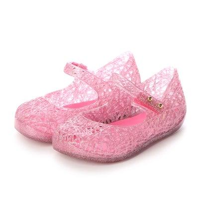 靴, その他  melissa MINI MELISSA CAMPANA ZIG ZAG VI BB PINKGLITTER SILVER