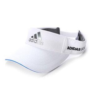 アディダス adidas メンズ ゴルフ サンバイザー ツアーメタリックロゴバイザー FM2981