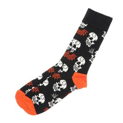 靴下・レッグウェア, 靴下  Happy Socks Halloween Skull Sock
