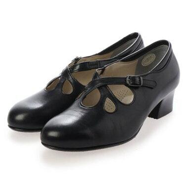 キクチノクツ 菊地の靴 385-19 (クロ)