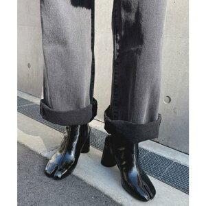 チュクラ chuclla 【chuclla】【2020/SS】足袋ブーツ ショートブーツ chw1009 (ブラック系その他)