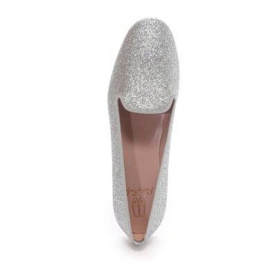 【アウトレット】プリティ・バレリーナ Pretty Ballerinas FAYE sandglitter(フェイ サンドグリッター)オペラシューズ(シルバー)