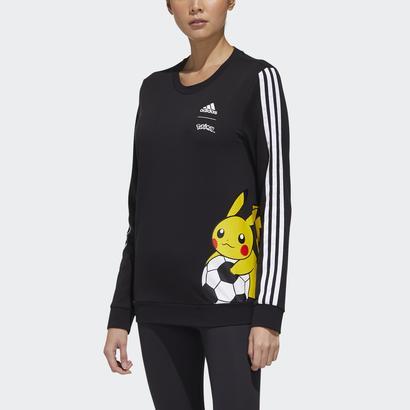 トップス, スウェット・トレーナー  adidas Pokemon Pikachu Sweatshirt