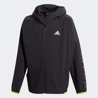 アディダス adidas トレーニングミックスジャケット / Training Mix Jacket (ブラック)画像