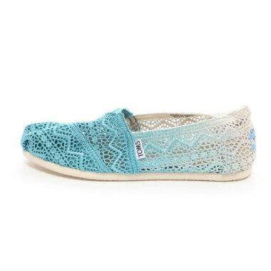【アウトレット】トムズ TOMS CHAPTER WOMENS-SEASONAL CLASSICS(Baltic Dip-Dyed Crochet)