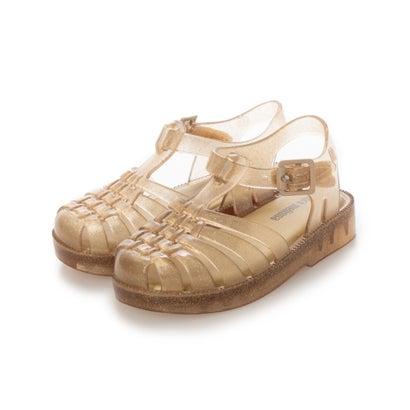 靴, サンダル  melissa MINI MELISSA POSSESSION BB BEIGE GLITTER