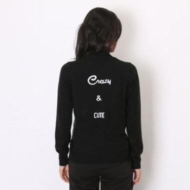 ルコックスポルティフ le coq sportif ゴルフセーター  QGL4141 (ブラック)