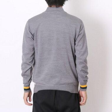 マンシングウェア Munsingwear ゴルフセーター  SG4329 (グレー)