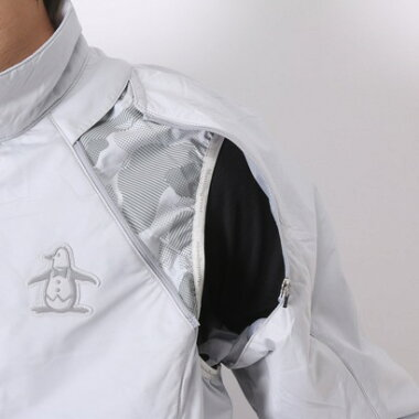 マンシングウェア Munsingwear ゴルフウィンドブレーカー  SG6342 (グレー)