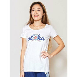 【Kahiko】アロフラTシャツ ホワイト