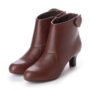 【アウトレット】シューズラウンジ アウトレット shoes lounge OUTLET ショートブーツ 3367144DBR (ブラウン)