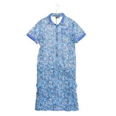 【アウトレット】オークリー OAKLEY ゴルフシャツ Barket Rose Thorn One Piece 591424JP ブルー (Blue Print)