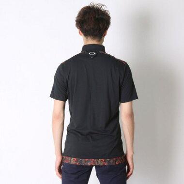 オークリー OAKLEY ゴルフシャツ Skull Upright Shirt 4.0 433619JP ピンク (Barberry)