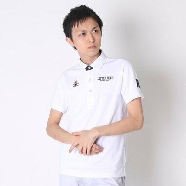 マンシングウェア Munsingwear ゴルフシャツ 半袖シヤツ(ニツト) RM1580 (ホワイト)