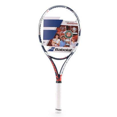 バボラ Babolat 硬式テニスラケット ピュア アエロ フレンチオープン BF101247 (ホワイト×ネイビー)