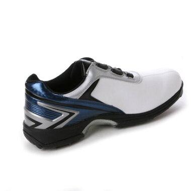 ティゴラ TIGORA メンズ ゴルフ ダイヤル式スパイクシューズ 0466134315 449 (ホワイト)