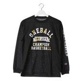 チャンピオン Champion レディース バスケットボール 長袖Tシャツ CW-JB401 (ブラック)