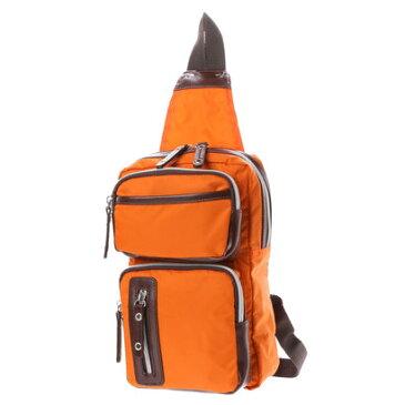 キュービック コア CUBIC CORE CUBIC CORE ナイロンボディバッグ (オレンジ)
