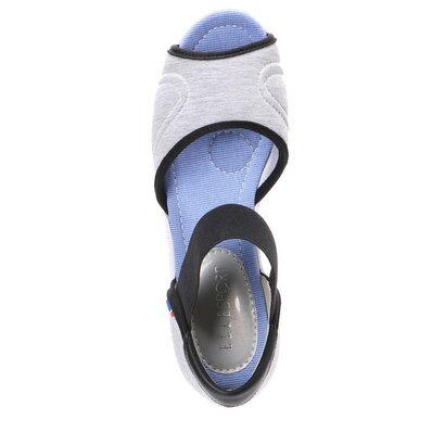 【アウトレット】エル スポーツ Elle Sport 5.0cmオープントゥ   ESP11550 (GRY)