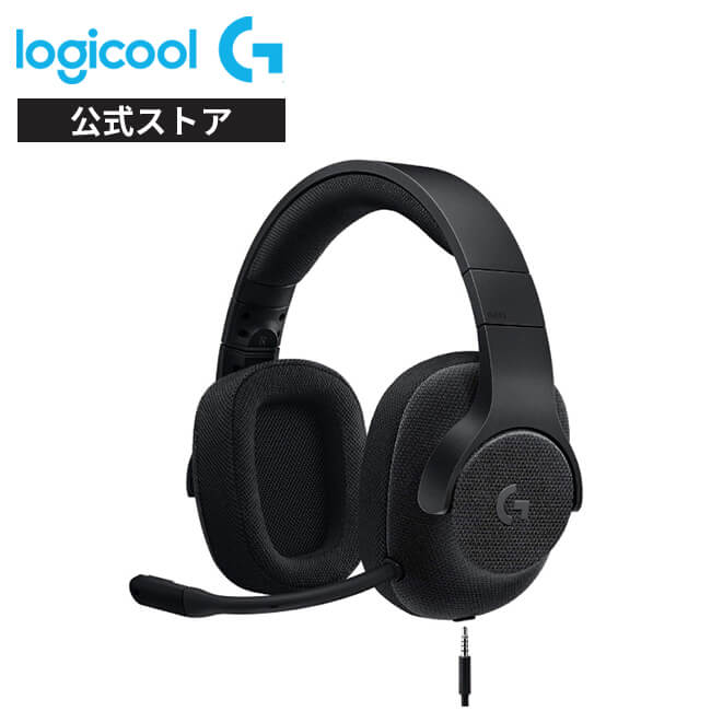 Logicool G ゲーミングヘッドセット 有線 G433BK 高音質 7.1ch Dolby 3.5mm usb 軽量 ノイズキャンセリング 単一性 着脱式マイク PC/PS4/Switch/Xbox/スマホ 国内正規品 2年間無償保証