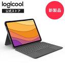 【新製品】ロジクール Logicool iPad Air 10.9インチ 第4世代対応 トラックパッド付き キーボード一体型ケース Combo Touch iK1095GRA 日本語配列 スマートコネクタ キーボード着脱可能 国内正規品 2年間無償保証・・・