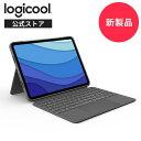 【新製品】ロジクール iPad Pro 12.9インチ 第5世代対応 トラックパッド付き キーボード一体型ケース Combo Touch iK1275GRA 日本語配列 バックライト付き スマートコネクタ 国内正規品 2年間無償保証・・・