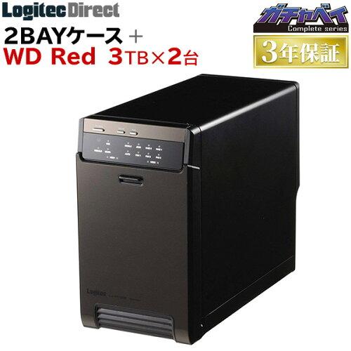 〓カメラマン用大容量ストレージ 東京カメラ部コラボモデル 2bayケース+RED 3TB×2台[完全限定版]...