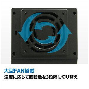 ロジテックHDDケース4BAY3.5インチ外付RAID機能搭載USB3.0eSATAWindows10対応【LHR-4BRHEU3】