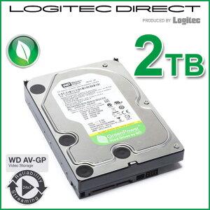 【ポイント5倍 〜12日1:59】Western Digital 3.5インチ内蔵HDD WD AV-GP 2TB バルクハードディスク【WD20EURX】