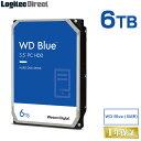 P5倍 WD Blue(SMR)WD60EZAZ 内蔵ハードディスク HDD 2TB 3.5インチ ロジテックの保証・無償ダウンロード可能なソフト付 ウエデジ【LHD-WD60EZAZ】 ssp5 【予約受付中:6/18出荷予定】・・・