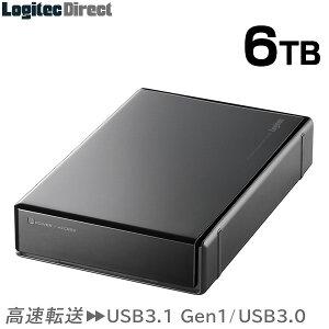 【LHD-EN60U3WS】【省エネ】【6TB】★国内生産★静音・省エネWDドライブ採用USB3.0対応熱に強い!外付けハードディスク