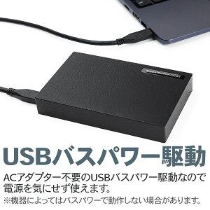 ロジテック外付けHDDポータブル1TBUSB3.0ハードディスクテレビ録画【LHD-PBR10U3BK】【予約受付中:5/18出荷予定】