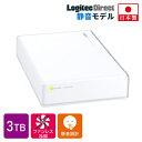 ロジテック 外付けHDD 外付けハードディスク 3TB US...