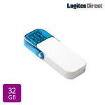 ロジテックUSBメモリ32GBUSB3.1Gen1(USB3.0)ホワイトフラッシュメモリーメール便対応【LMC-32GU3WH】