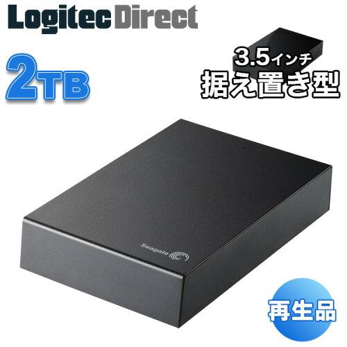 Seagate 3.5インチ 外付けハードディスク 2TB Expansion Desktop Drive USB3.0【SGD-EX0...