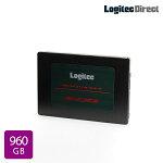 ロジテック内蔵SSD2.5インチSATA対応960GBデータ移行ソフト付【LMD-SAB960】
