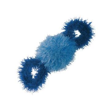 【正規輸入品】キンペックス 歯みがきおもちゃ OoMaLoo(オーマロー) ひっぱりロープ ブルー 犬猫用