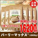 スーパー大麦バーリーマックス800g正規品
