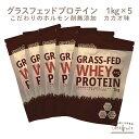 【予約:10月22日以降発送予定】 ホエイプロテイン チョコ ( ココア ) 5kg (1kg×5袋) グラスフェッド(USDA認証取得原料) 牛成長ホルモン不使用 アミノ酸スコア100 ナチュラル Non-GMO ホエー WPC おきかえダイエット 女性 にもオススメ LOHASports ロハスポーツ