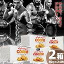 ライトダイジェストプロテインクッキー 塩キャラメル味 [(60g×12袋入)×2箱] QNT Light Digest Protein Cookie - Salted Caramel