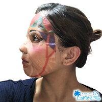沖縄限定フェイスマスク美人変身アートマスク×5枚セット