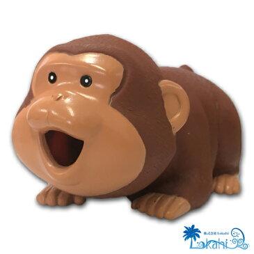 ラッキーウッキー日本猿  リアルな鳴き声 鳴くシリーズ パロディ