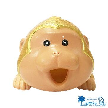 ラッキーウッキー日本猿(金)  リアルな鳴き声 鳴くシリーズ パロディ