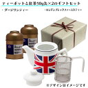 【ギフト包装】茶漉し付ティーポット(陶器製)(ユニオンジャッ