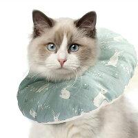 エリザベスカラー犬猫ソフトやわらか綿質軽量術後傷口保護傷舐め防止引っ掻き防止介護ヘルスケア術後ウェア送料無料