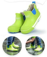 レインブーツキッズレインシューズ女の子男の子レインブーツショート丈雨靴レインシューズサイドゴア滑り止め梅雨小学生子供雨雪通園通学防水アウトドア