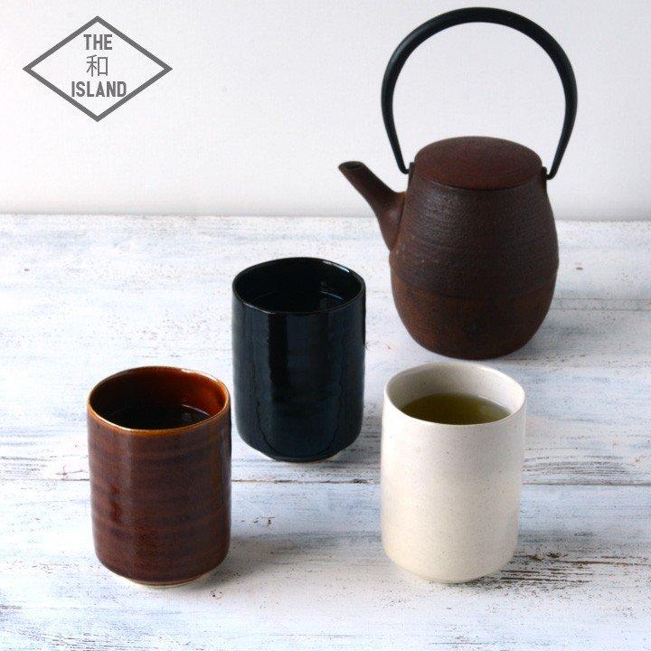 湯呑み おしゃれ 北欧 和モダン 湯のみ 湯呑 来客用 かわいい 湯飲み 日本製 和食器 湯呑 3color 新生活
